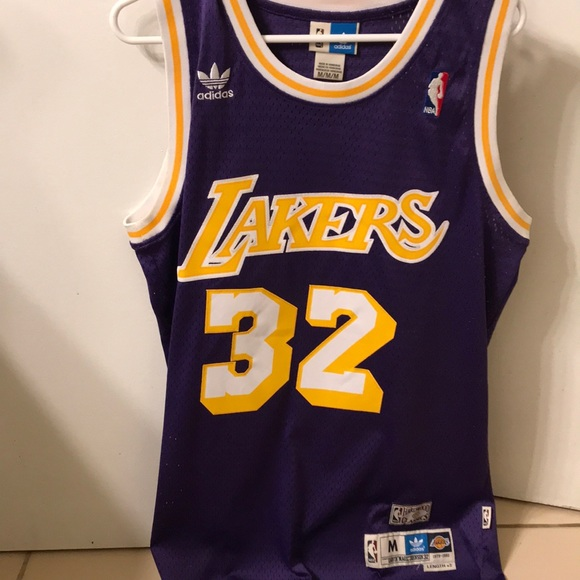 d5391092059 adidas Other - Magic Johnson hardwood classics lakers jersey